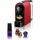 more details on Nespresso U Coffee Machine by Krups - Matt Red.