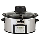more details on Crock-Pot 5.7L Autostir Slow Cooker - Stainless Steel.