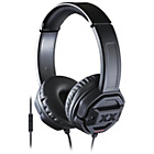 more details on JVC Xtreme Xplosives HA-SR50X Over-Ear Headphones - Black.