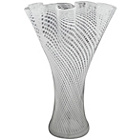 more details on Premier Housewares Pleated Top Glass Vase.
