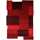 more details on Milan Red Rug - 90 x 150cm.