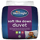 more details on Silentnight Soft Like Down 13.5 Tog Duvet - Double.