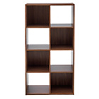 more details on HOME Squares 8 Cube Unit - Walnut.