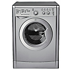 more details on Indesit IWDC6125S Washer Dryer - Silver/Exp Del.