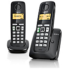 more details on Gigaset C430A X2 Cordless Telephone TAM - Silver.