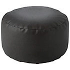 more details on Leather Effect Footstool - Chocolate.