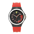 more details on Scuderia Ferrari Mens' Lap Time Red Strap Watch.