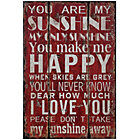 more details on Premier Housewares You are my Sunshine Wall Plaque.