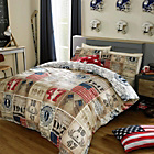 more details on American Freshman Brady Duvet Cover Set - Kingsize.