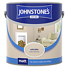 more details on Johnstone's Matt Emulsion Paint 2.5L - Oatcake.
