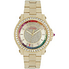 more details on Juicy Couture Ladies' Pedigree Multi Stone Bracelet Watch.