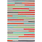 more details on Habitat Ada Multicoloured Flat Weave Rug - 120x180cm.
