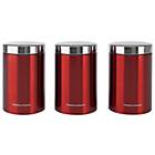 more details on Morphy Richards Accents 3 Piece Storage Canister Set.
