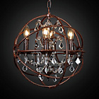 more details on Twig Sphere Pendant Light with Crystals.