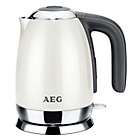 more details on AEG EWA7100WU Jug Kettle - Cream.