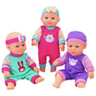 more details on Chad Valley Babies to Love Mini Triplets Doll Set.