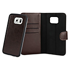 more details on Xqisit Wallet Case Eman for Samsung Galaxy S6 Edge - Brown