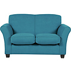 more details on Caitlin Regular Fabric Sofa - Teal.