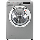 more details on Hoover DXC4E47S3 7KG 1400 Washing Machine- Silver/Exp Del.