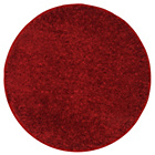 more details on Circular Shaggy Rug 100 x 100cm - Red.