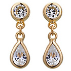 more details on 9ct Gold Cubic Zirconia Teardrop Earrings.