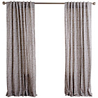 more details on Habitat Trene Pair of Curtains - 145x170cm - Grey.