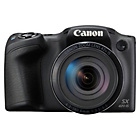 more details on Canon Powershot SX420 20MP 42x Zoom Bridge Camera - Black.