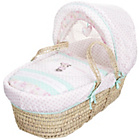 more details on Disney Minnie Mouse Moses Basket and Folding Stand - Pink.