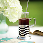 more details on La Cafetiere Wave Latte Glasses Set of 2.