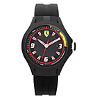 more details on Scuderia Ferrari Mens' Pit Crew Black Strap Watch.