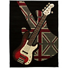 more details on Guitar Rock Multi Rug - 160 x 225cm.
