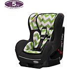 more details on Obaby Group 0-1 Combination Car Seat - ZigZag Lime.