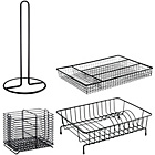 more details on Habitat Nevin 4 Piece Black Compact Dish Drainer.