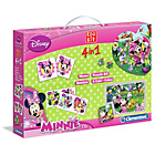 more details on Clementoni Minnie Mouse 4 in 1 Games Set.