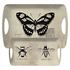 more details on Creative Tops Vintage Bugs Trays Set of 2.