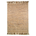 more details on Textura Brown and Beige Rug - 80 x 150cm.