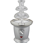 more details on Cookworks Chocolate Fountain - Silver.