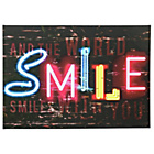 more details on Graham & Brown Neon Smile Canvas.