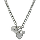 more details on Lipsy Heart Toggle Pendant.