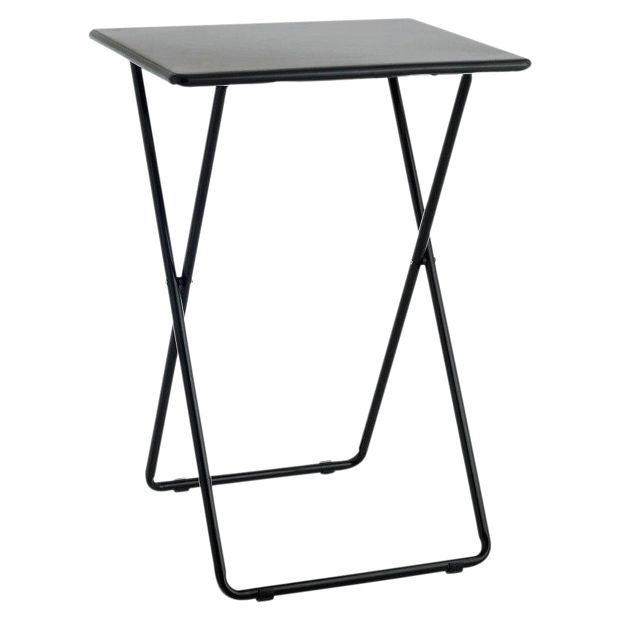 Buy Habitat Airo Metal Folding Table Black At Your Online Sho