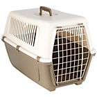 more details on Rosewood Plastic Pet Carrier with Cushion - Large.