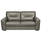 more details on Aston Large Leather Sofa - Grey.