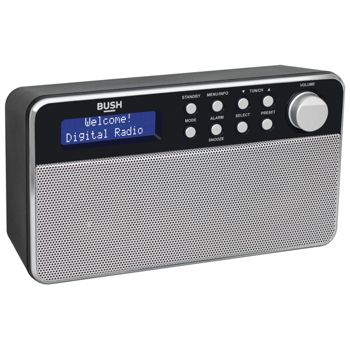 Bush Stereo LCD Display 4W DAB Radio