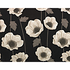more details on HOME Elissia Poppy Roller Blind - 4ft - Cream and Black.