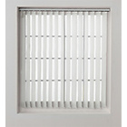more details on HOME Vertical Blind Slats Pack - 244x137cm - White.