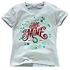 more details on Minecraft Girls' All Mine T‑Shirt.