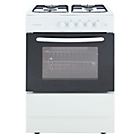 more details on Cookworks CGS50W Single Gas Cooker - White.