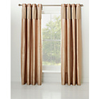 more details on Heart Of House Colette Eyelet Curtains 228 x 228cm-Champagne