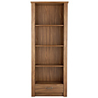 more details on Ohio 1 Drawer Tall Bookcase - Walnut Effect.