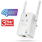 more details on TP-LINK 300MBPS Wall Plug Pass Through Range Extender